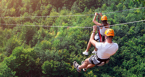 CasaTeresa Luxury Villa Vacation Canopy Zip Line Tour