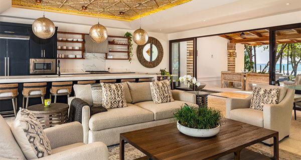 CasaTeresa Luxury Villa Living Room Front View 01