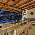 Casa Teresa Luxury Villa Restaurant Night View