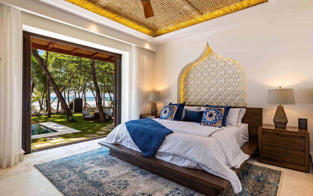 Casa Teresa Luxury Villa Bedroom Morning View
