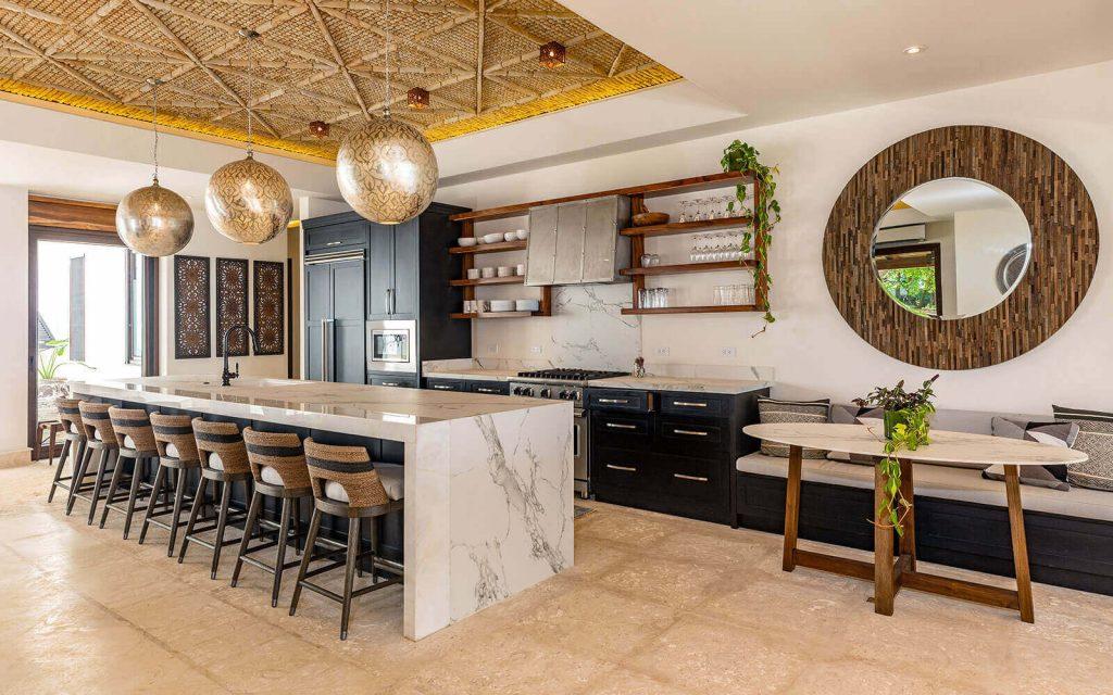 Casa Teresa Luxury Villa Kitchen Island