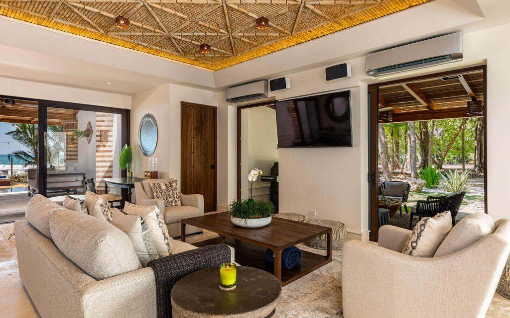 Casa Teresa Luxury Villa Living room Side View