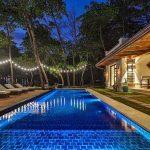 Casa Teresa Luxury Villa Pool Night View