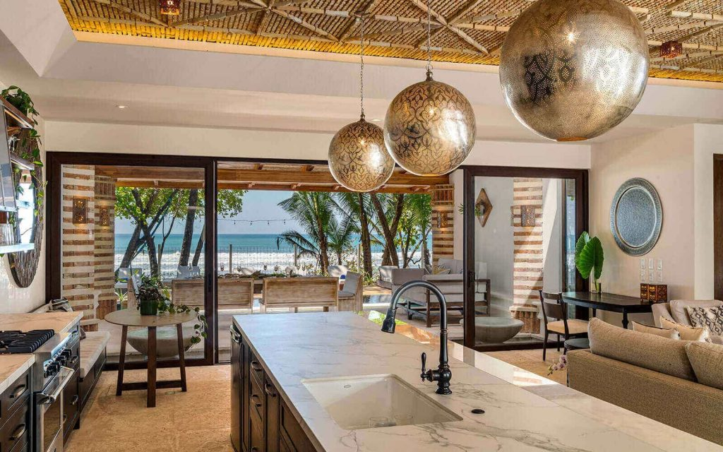 Casa Teresa Luxury Villa Kitchen Island Day View