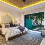 CasaTeresa Luxury Villa Bedroom Evening View