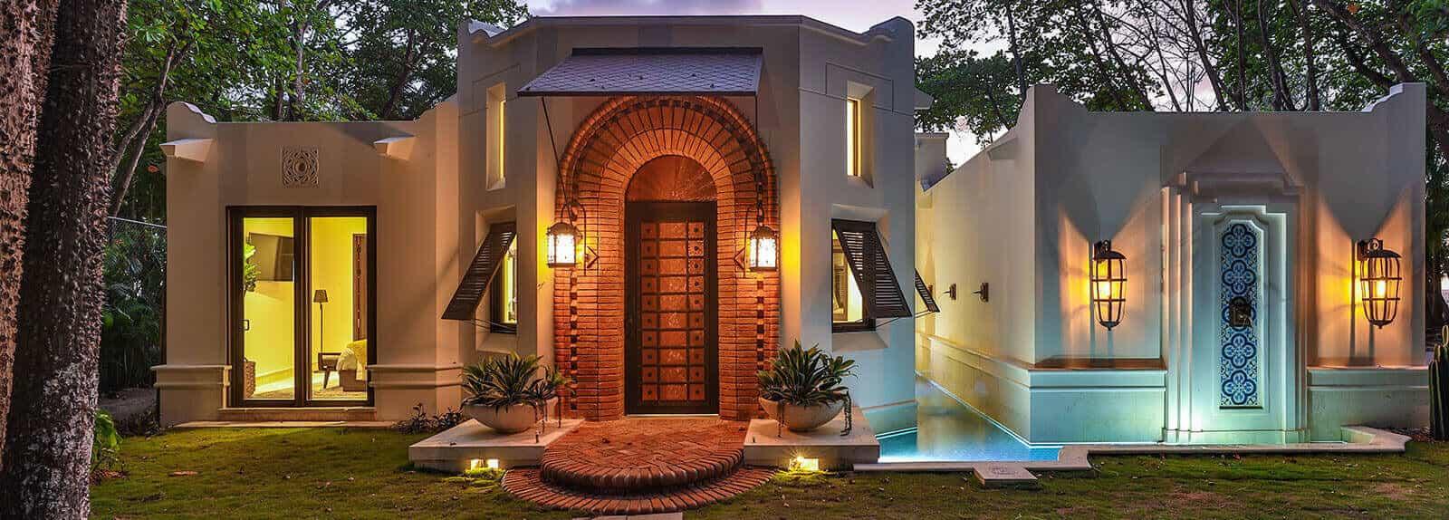 CasaTeresa Luxury Villa Front view Large