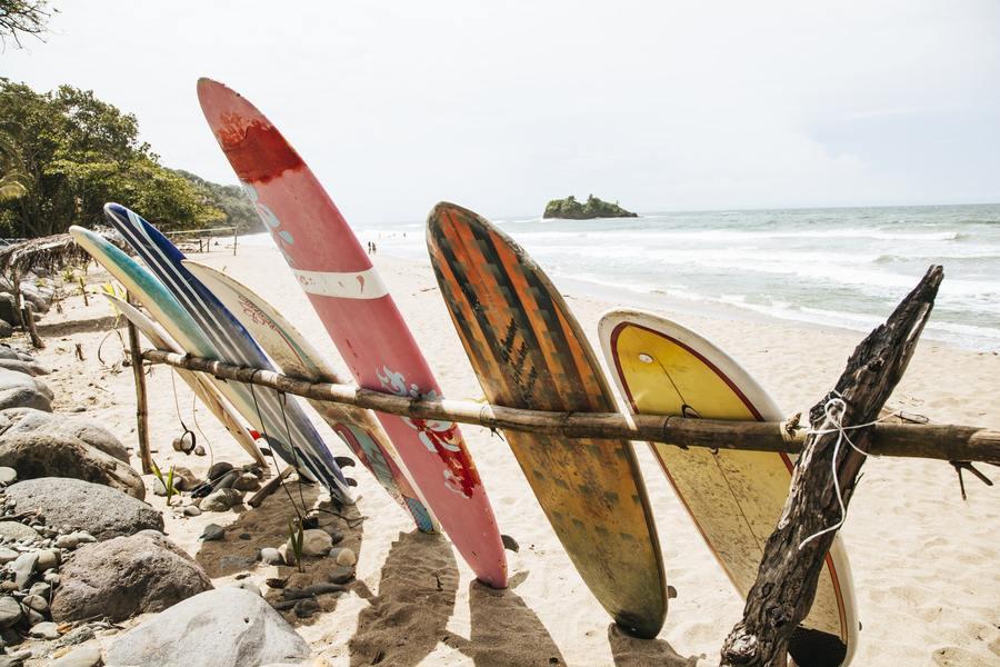 Casa Teresa Surfboards Beach